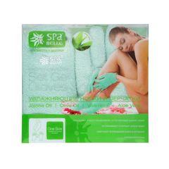 Набор увлажняющих гелевых перчаток и носков SPA Belle (СПА Бель) с алоэ зелёные