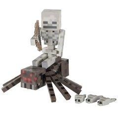 """Игрушка-фигурка Minecraft """"Spider Jockey"""" с аксессуарами, 8 см"""