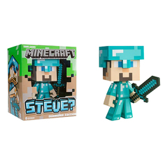 """Игрушка-фигурка """"Minecraft Steve Diamond"""" (Стив), 16 см"""