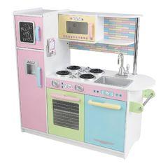 """Деревянная кухня для мальчиков и девочек """"Пастель"""" (Uptown Espresso Kitchen)"""