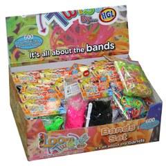 """Набор для плетения браслетов из резинок """"Loom Twister"""", 600 резинок"""
