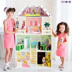 """Кукольный домик """"Поместье Шервуд"""" (с мебелью)"""