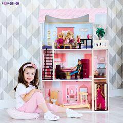 """Кукольный домик """"Эмилия-Романья"""" (с мебелью)"""