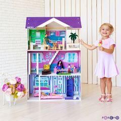 """Кукольный домик """"Флоренция"""" (с мебелью)"""