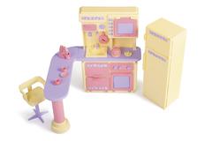 Кухня Маленькая принцесса Желтая  (в коробке)