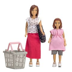 Куклы мама и дочка