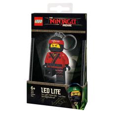 """Брелок-фонарик для ключей """"Lego Фильм: Ниндзяго. Kai"""""""