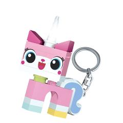 Брелок-фонарик для ключей Lego Movie - Unikitty