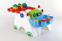 """Игровой центр """"Беби"""" + Набор (17 элементов) (в пакете)"""
