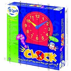 """Конструктор Gigo """"Standing magnetik teaching clock"""" (Гиго. Большие часы)"""