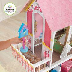 Деревянный дом для Барби