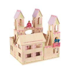 Замок принцессы для мини-кукол