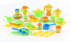 Набор детской посуды (50 элементов) (в коробке)
