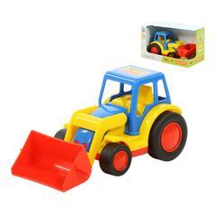 """""""Базик"""", трактор-погрузчик (в коробке)"""
