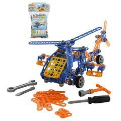 """Конструктор """"Изобретатель"""" - """"Вертолёт №2"""" (232 элемента) (в пакете)"""