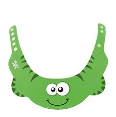 Защитный козырек для мытья головы, цвет зеленый