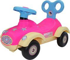 Каталка-автомобиль для девочек Сабрина №2 (без звукового сигнала)