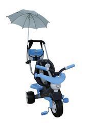 Велосипед 3-х колёсный Амиго №3 с ограждением, клаксоном, ручкой, ремешком, мягким сиденьем, сумкой и зонтиком