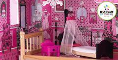 Кукольный домик для Барби с мебелью