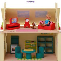 Игрушечный кукольный домик