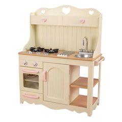 Детская игрушечная кухня из дерева
