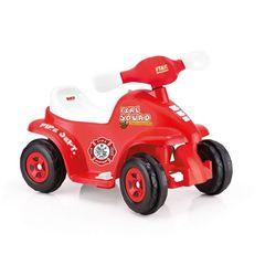 Квадроцикл на аккумуляторе, 6V, красный