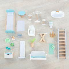 Кукольный домик Матильда, с мебелью 23 элемента