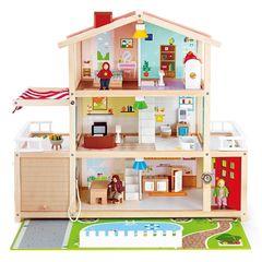 Кукольный семейный особняк