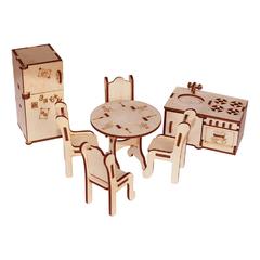Мебель для кукол серия Я дизайнер Кухня, конструктор