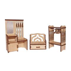 Мебель для кукол серия Я дизайнер Прихожая, конструктор