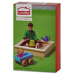 Игровой набор для домика Смоланд Песочница с игрушками