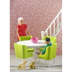 Кукольная мебель  Смоланд Обеденная группа