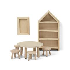 Набор деревянной мебели для домика «Сделай сам» Столовая