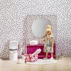 Набор мебели для домика Ванна комната