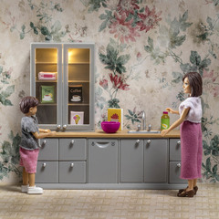Набор мебели для домика Кухня