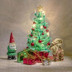 Набор мебели для домика Рождественский набор