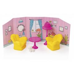 Комната отдыха с интерьером