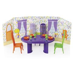 Столовая комната с интерьером