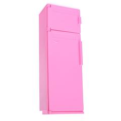 Холодильник розовый для кукол