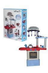 Набор игрушечной кухни Infinity premium №3 (в коробке) (со звуком и каплями воды (конденсат))