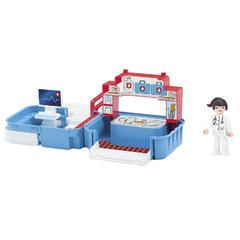 Игровой набор больница с фигуркой медсестрой в чемоданчике