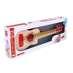 Музыкальная игрушка Гитара Красное пламя
