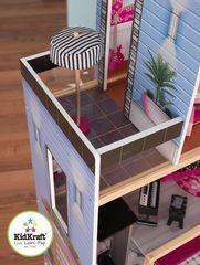 """Большой искрометный кукольный дом для Барби """"Сияние"""" (Sparkle Mansion) с мебелью 30 элементов"""