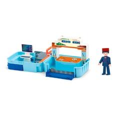 Игровой набор диспетчерская с фигуркой диспетчера в чемоданчике