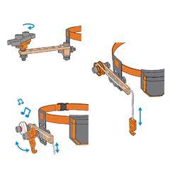 Игровой набор Пояс с инструментами