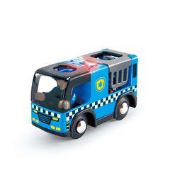 Полицейская машина с сиреной