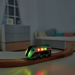 Поезд на солнечных батарейках