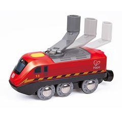 Поезд с коленчатым приводом