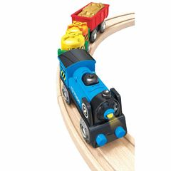 Товарный поезд на батарейках