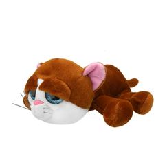 Мягкая игрушка Коричневый кот, 25 см